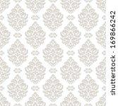 damask seamless pattern for... | Shutterstock .eps vector #169866242