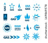 collection of vector icons of... | Shutterstock .eps vector #169869578