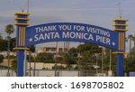 Famous Santa Monica Pier In Lo...