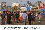Walking On Santa Monica Pier  ...