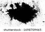 black blotches and splashes of... | Shutterstock .eps vector #1698709465