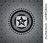communism icon inside dark... | Shutterstock .eps vector #1698928042