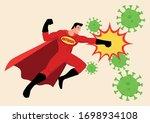 simple flat vector illustration ... | Shutterstock .eps vector #1698934108