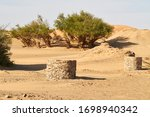 Deep Stone Wells With Water In...