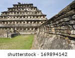 pyramid of the niches  el tajin ... | Shutterstock . vector #169894142