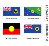 flags of australia   Shutterstock .eps vector #169895735