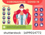poster and infographic to...   Shutterstock .eps vector #1699014772