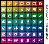 collection of 49 flat icons   1