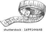 vector illustration of atelier... | Shutterstock .eps vector #1699144648