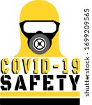 covid 19 safety with protective ... | Shutterstock .eps vector #1699209565