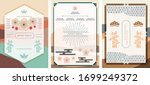 japanese background and... | Shutterstock .eps vector #1699249372