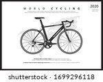 Bike Cycling Poster Vector...