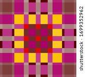 tartan fabric texture. seamless ... | Shutterstock .eps vector #1699352962
