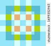 tartan fabric texture. seamless ... | Shutterstock .eps vector #1699352965