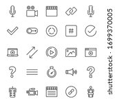 sign icon set. collection of... | Shutterstock .eps vector #1699370005