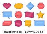 quote text box. vector....   Shutterstock .eps vector #1699410355