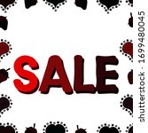 sale discount background for... | Shutterstock . vector #1699480045