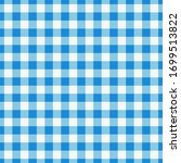 blue checkered textile products.... | Shutterstock .eps vector #1699513822
