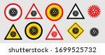 lockdown pandemic stop novel... | Shutterstock .eps vector #1699525732