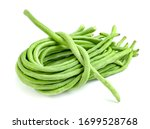 Long Bean Or Cowpea Isolated On ...