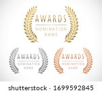 awards logo collection.... | Shutterstock .eps vector #1699592845