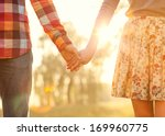 Young Couple In Love Walking I...