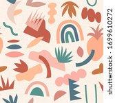 modern abstract aesthetic... | Shutterstock .eps vector #1699610272