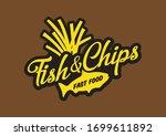 Fish   Chips Logo Design