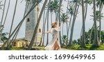 Girl In Sri Lanka On An Island...