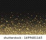 golden sparkles  abstract...   Shutterstock .eps vector #1699681165