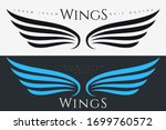 winged emblem for your company. ... | Shutterstock .eps vector #1699760572