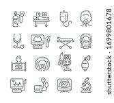 medical diagnostic equipment... | Shutterstock .eps vector #1699801678