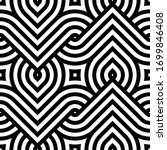 vector geometric pattern.... | Shutterstock .eps vector #1699846408