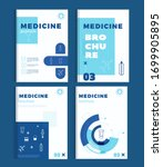 medicine brochure pharmacy... | Shutterstock .eps vector #1699905895
