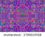 Psychedelic Trippy Abstract...