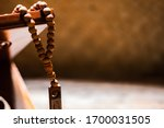 Islamic prayer beads or tasbih...