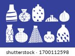 collection of hand drawn vector ... | Shutterstock .eps vector #1700112598