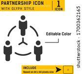 partnership icon design...