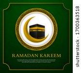 ramadan kareem islamic...   Shutterstock .eps vector #1700363518