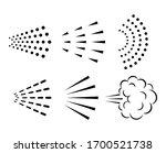 spray vector icon collection...   Shutterstock .eps vector #1700521738