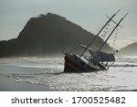 Shipwreck  Sailing Vessel...