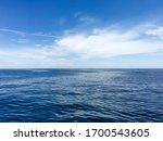 Calm Marine Landscape Seawater...