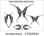 handmade tribal tattoo | Shutterstock .eps vector #17005834