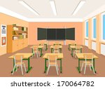 illustration of an empty... | Shutterstock . vector #170064782