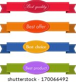 set of superior quality and...   Shutterstock .eps vector #170066492