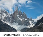 Small photo of The peak of Cerro Torre, arguably the most difficult mountain to climb in the entire World, Argentina