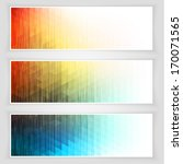 abstract banners collection  ... | Shutterstock .eps vector #170071565