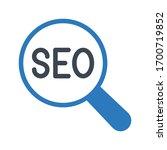 seo marketing vector glyph...   Shutterstock .eps vector #1700719852