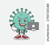 an illustration of blue virus... | Shutterstock .eps vector #1700720188