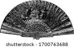 18th Century Spanish Shell Fan...